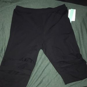 NWT Abound leggings with cut up holes on thighs